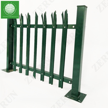 D/W/Angle iron type Hot Selling Long Life Security Steel Palisade Fence