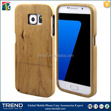 natural wood bamboo phone case for samsung galaxy s7