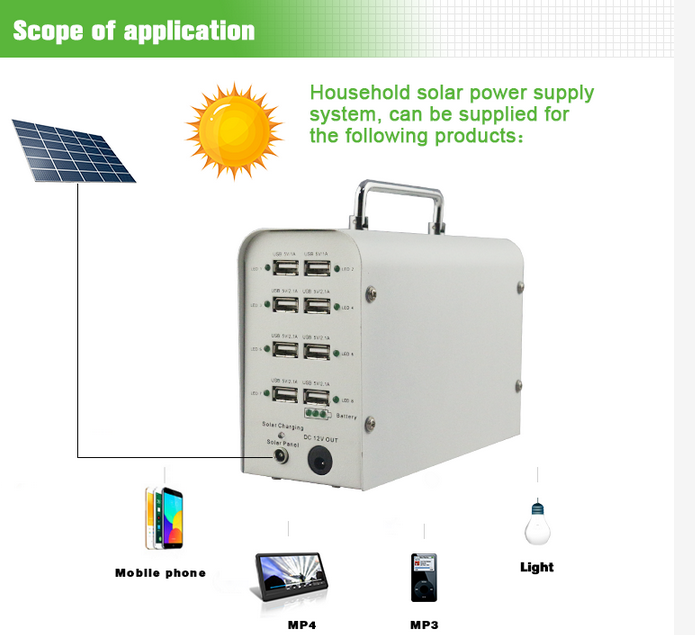 35ah battery portable charging station for mobile phone solar power bank solar storage mini solar station tent DC power