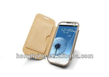 Sleek skin leather Case Cover for Samsung GalaxyS4