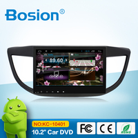 android 4.4.4 touch screen car navigation stereo for CRV /bluetooth radio gps usb sd tv phone connect swc