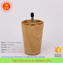 SGS test Wooden Finished Outdoor Furniture Adjustable Foot
