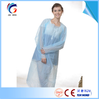 CPE Gowns, Disposable Dental Gown,Plastic Surgical Gown/CPE Isolation Gowns