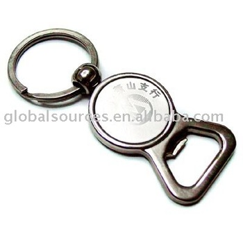 high quality & promotion metal Bottle Opener Keychain