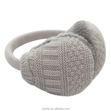 Morewin Custom Good Sell Knitting Earmuffs Fashion Winter Warm Men Earmuffs