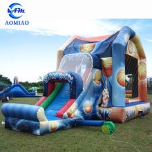 Used commercial inflatable bounce house bouncy castle for sale