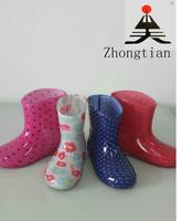 PVC Fashion safety rain boots for children