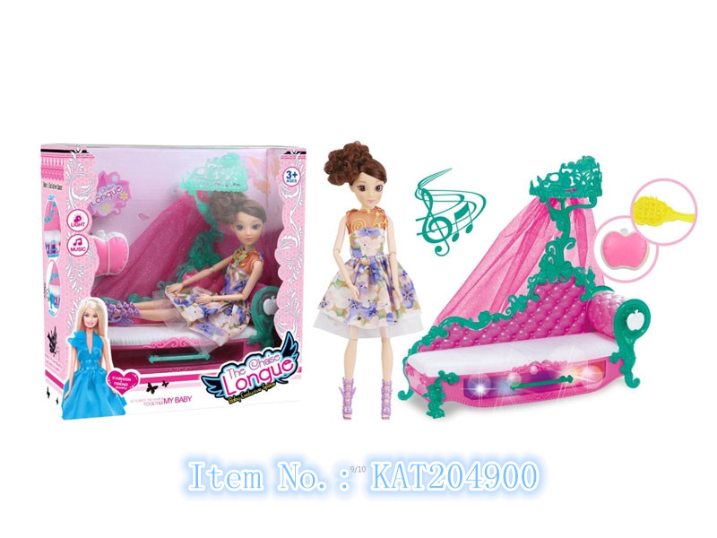 Wholesale Dress-up Cute Baby Doll With Light And Music
