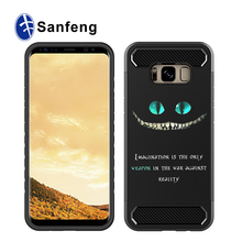 Lastest products custom 2 in 1 painting shockproof hybrid case for Samsung S8 Plus