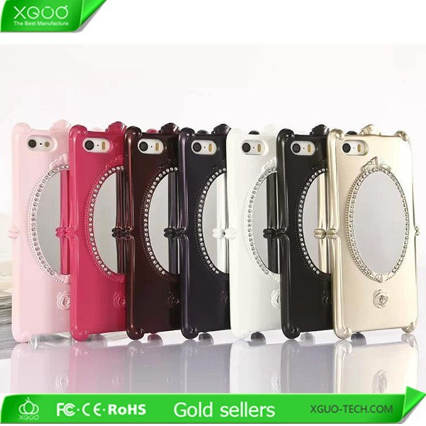 new product for apple diamond iphone 6 mirror case