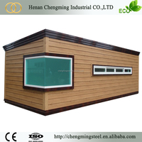 fashionable affordable mobile 40ft balcony prefabricated container house/container home/container house