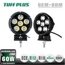 Hot sale 5 inch Round 30w 60w led driving lights with Emark E13 for 4WD offroad trucks