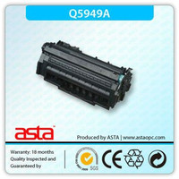 Great quality Q5949A compatible toner cartridge for HP Q5949 competitive price ASTA toner shenzhen