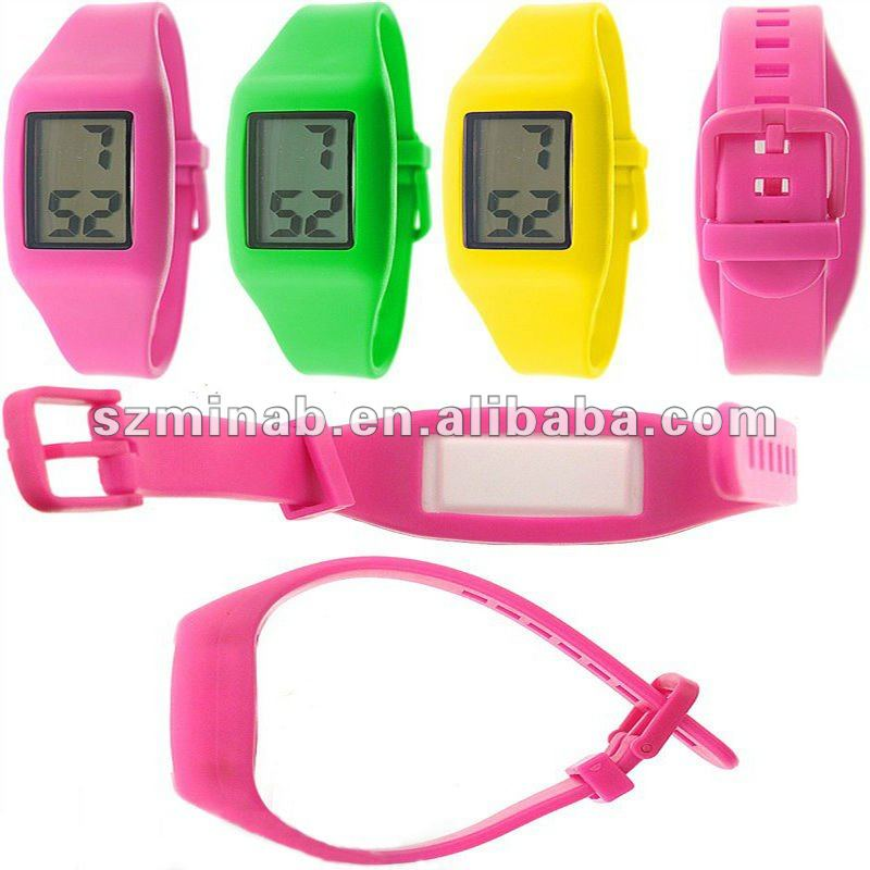 various fashione design new silicone digital watch