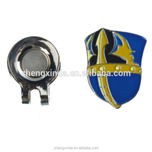 Shield Golf Hat Clip Shield Ball Marker Magnetic Hat Clip for Golf Club