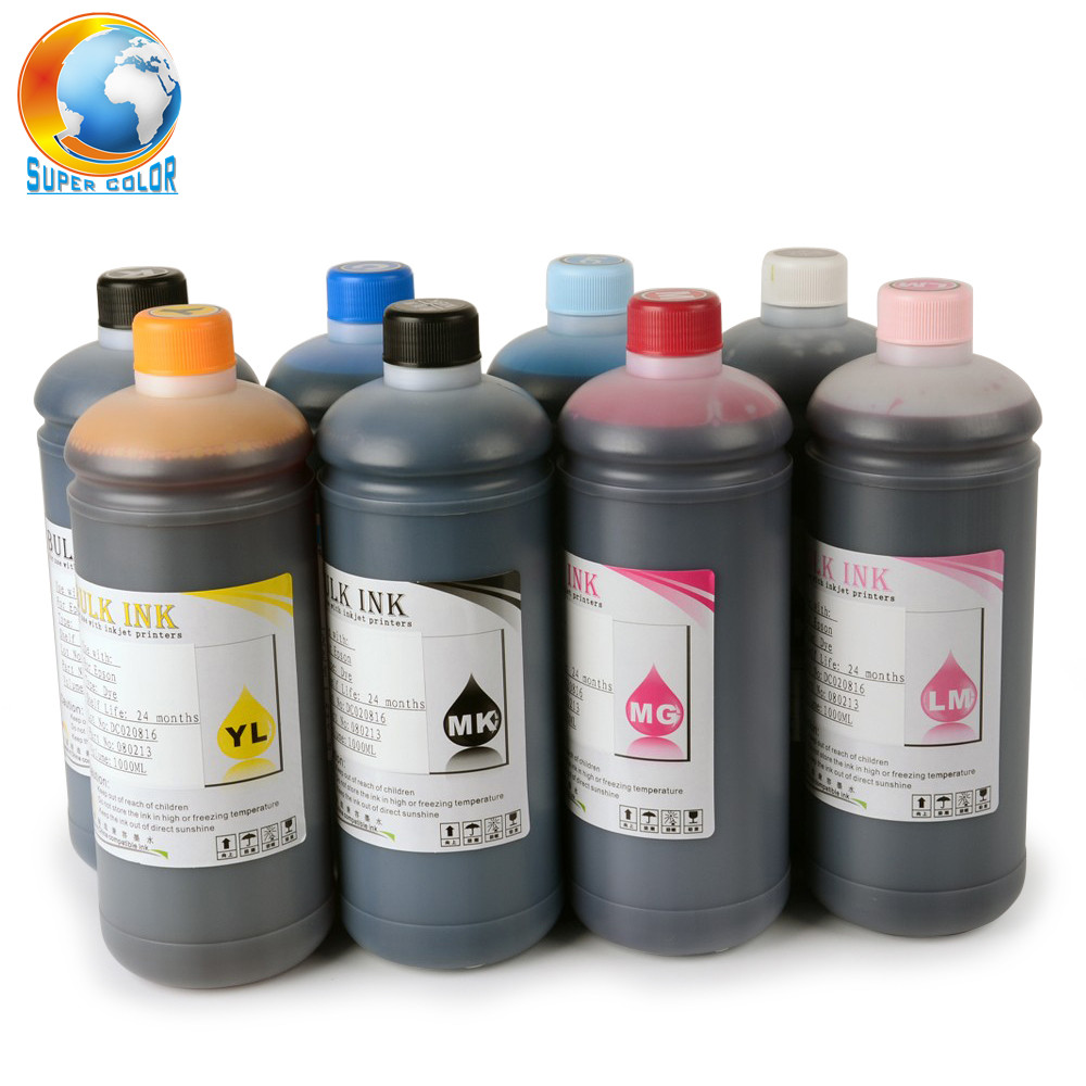 Supercolor 1000ML/Bottle Universal Dye Ink <strong>10</strong> Colors For Canon PIXUS Pro 9500