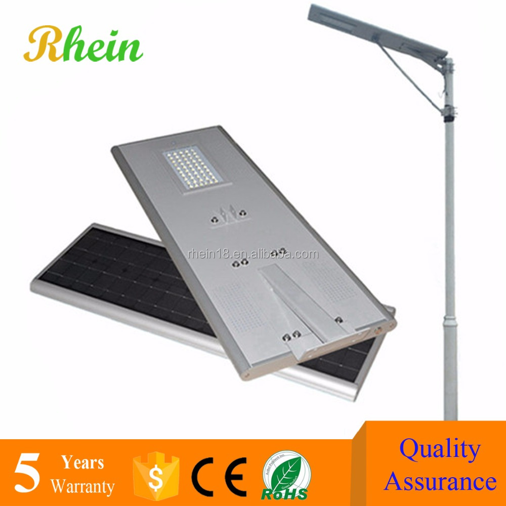 China Factory 6m 8m 10m 12m Pole Integrated Solar LED Street Light Price List