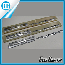 Adhesive metal badges emblems custom chrome car emblem/badge /logo/sticker