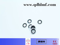 rubber and metal bonded washer copper coated and galvanized nbr bonded gasket seals rubber gasket/washer