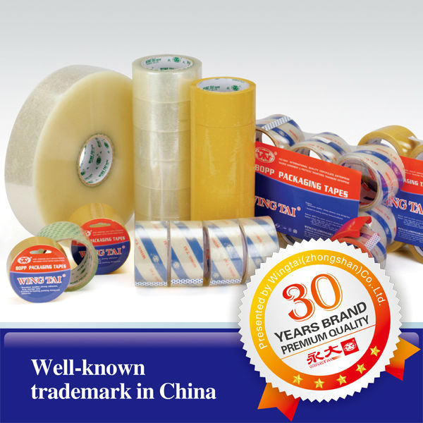 good quality sealing tape Water Based Acrylic Adhesive