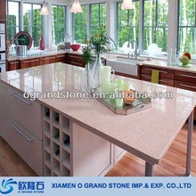 Solid Surface Countertop Kitchen Artificial Granite Countertops Pure White Artificial Stone Countertops