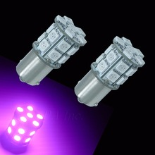 PA Taiwan Wholesaler Pink 12V/24V 1156 BA15S 20 SMD 5050 LED For Car Motorcycle Tail, Backup, Signal Turn Light