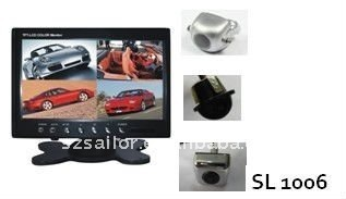 "Hot! 7"" TFT LCD screem car monitor parking system"