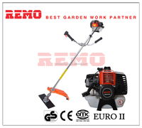 43cc aluminum RM-BC430A shoulder petrol golf grass cutting machine