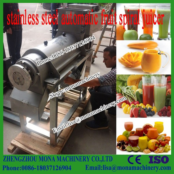 Small Model Stainless Steel Fruit Juicer|Screw Type Tomato Juice Extractor