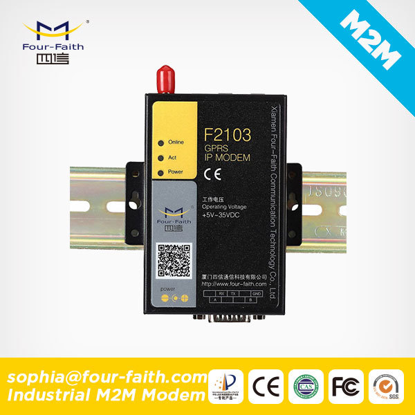 Remote management for power crane Industrial level external gprs antenna Wireless M2M rs422 rs232 gsm gprs modem