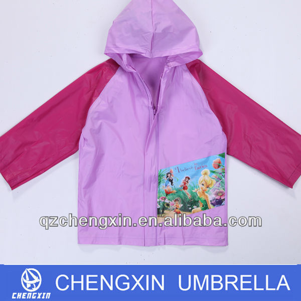 wholesales recyclable polyester rain poncho