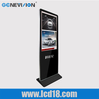 42 inch Wifi stand LCD 3G wifi full hd indoor touch screen ad player kiosk media video advertising display 5-wire