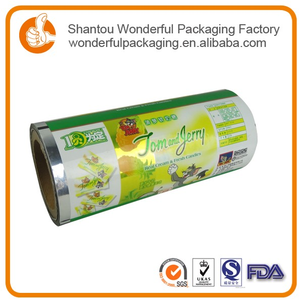 Thin solar panel flexible packaging film with vivid pouch plastic material