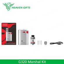 New 2017 Wholesale 320W 5ml SMOK G320 Marshal Kit Electronic Smoking
