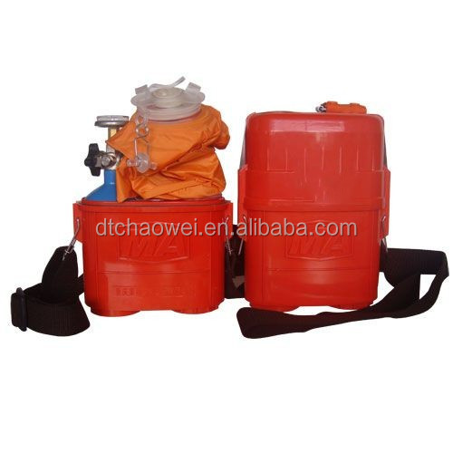High quality mining oxygen self rescuer respirator