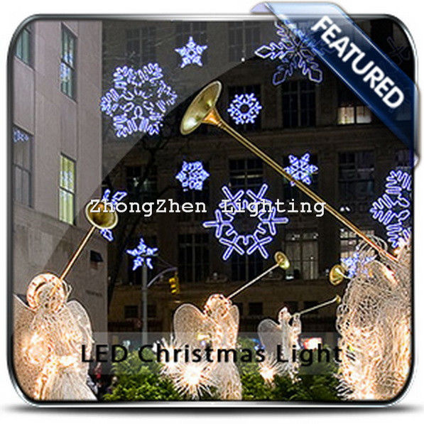 Outdoor wholesale high quality christmas street light for Quality outdoor christmas decorations
