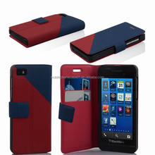 Wallet Pu Leather Case for Blackberry Z10