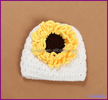 Sunflower Crochet Baby Hat Pattern : Sunflower Crochet Hat,Crochet Baby Hat - Buy Crochet Baby ...