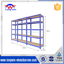 Industrial Max 300KG per shelf 5 tier metal boltless warehouse storage <strong>rack</strong>