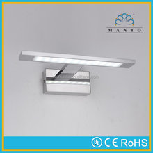 High effiency super quality glass led bathroom mirror lights