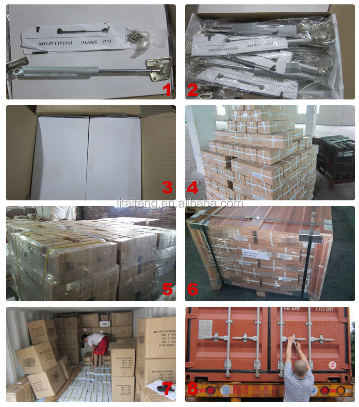 Kitchen cabinet gas spring, cabinet door gas piston