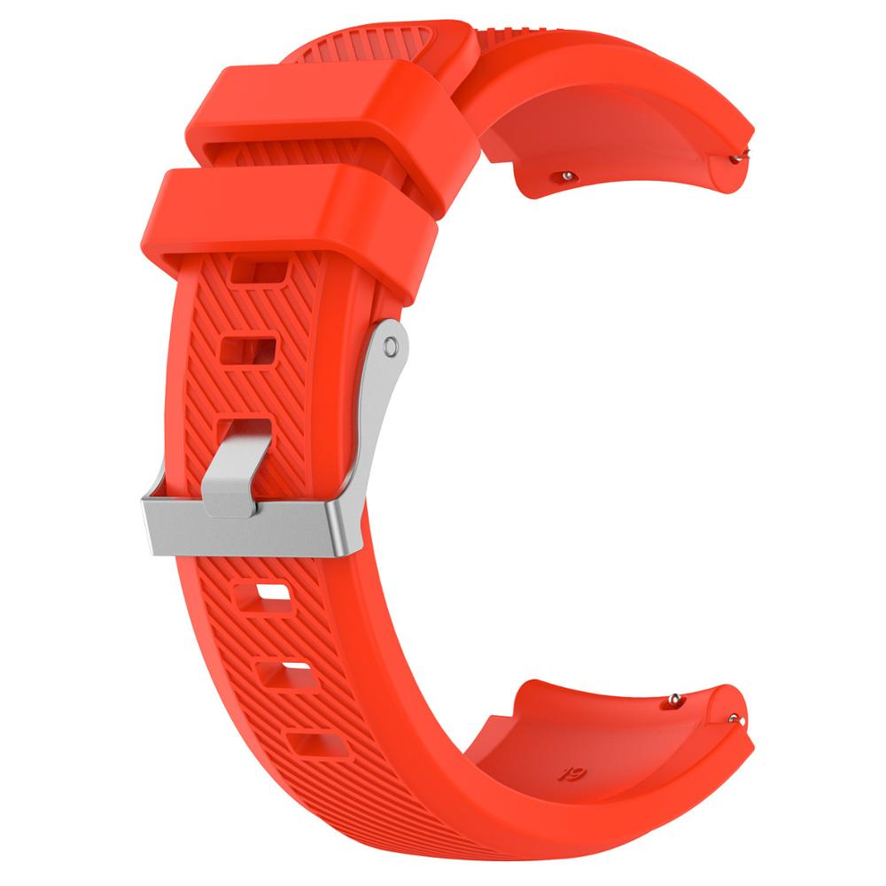 silicone rubber watch bands strap for Fossil-a <strong>Q</strong> MARSHAL gen2