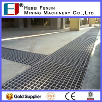 High Strength Fiberglass Reinforced Plastic Floor Grating For Paper Manufacturing