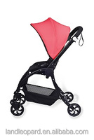 Red nice color of the 2012 new style baby strollers with hard resistence frams foldabel to carry and change the seat unit good