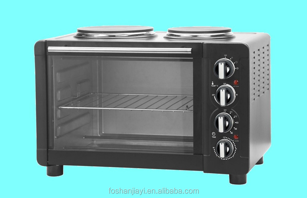Double hotplates 30L electric oven powerful multifunctional toaster oven