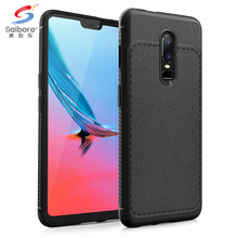 ShockProof carbon fiber Armor Back Cover For oneplus 6 Phone Case, Mobile Phone accessory for one plus 6 six case