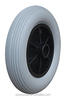 Contemporary promotional Solid PU Foam Wheel, pu foam rubber wheel 8 inch wy-022-2