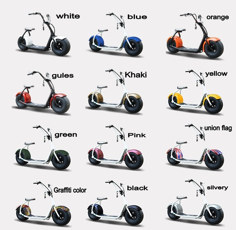 popular city 2 wheels electric scooter with seat Free give the remote control