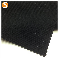 high quality customized polyester metallic elastic jacquard for woman cloth