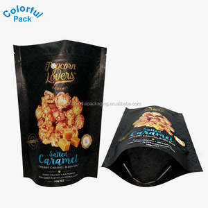 custom printed potato chip plastic bags with own logo zipper packaging bag